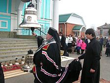 Освящение колоколов, станица Тбилисская,  Свято-Покровский храм