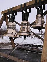 Набор из 7 колоколов с благовестником